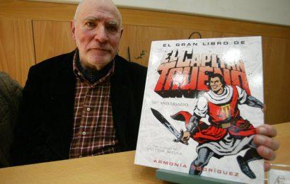 Casa del llibre (Passeig de Gràcia, 62) presentació del Llibre El Gran libro de El Capitan Trueno d'Armonía  Rodríguez. Hi haurà Víctor Mora, creador d'El Capità Trueno i Ibañez, creador de Mortadelo